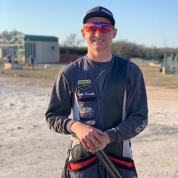 SJM Junior Emilio Carvalho to Compete for Spot on 2021 USA Shooting Junior World's Team