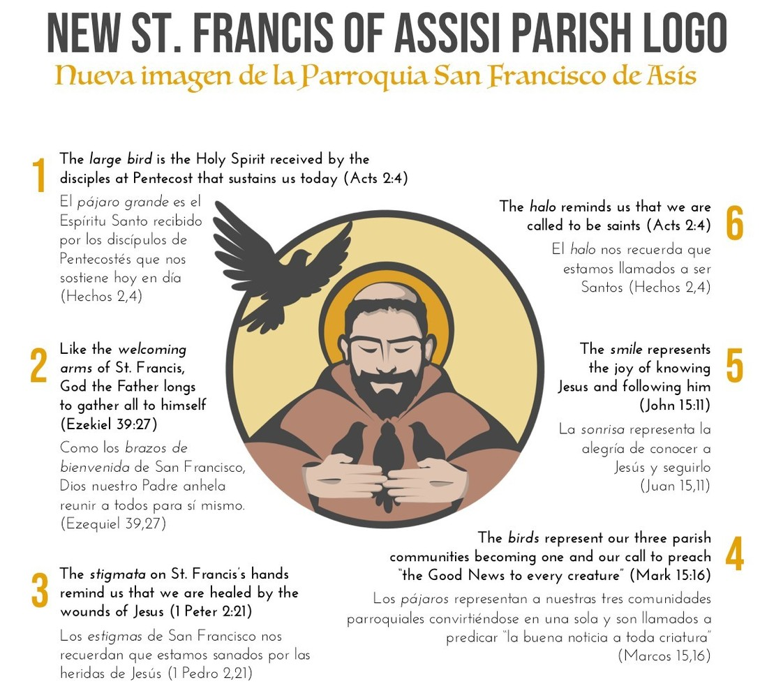 St. Francis Logo Explained