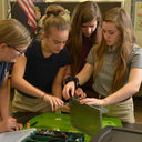 Middle School Students Explore Engineering