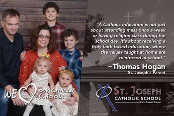 Why Catholic Schools by The Hogan Family