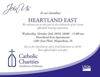 Heartland East Open House