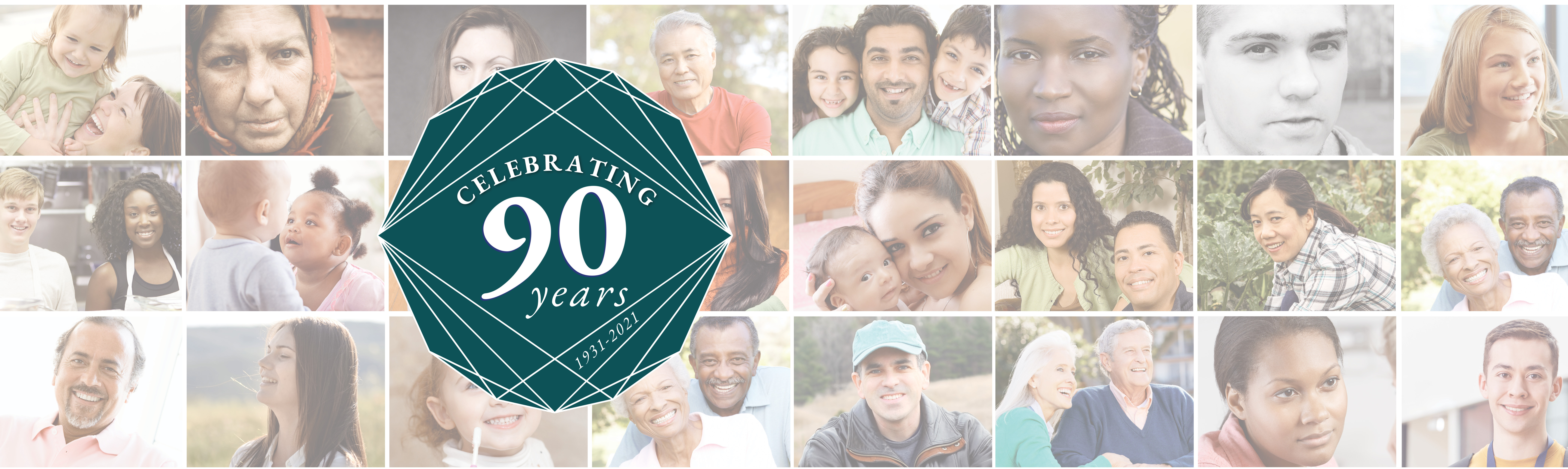 Celebrating our 90th Anniversarywith 90 Faces of Hope