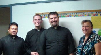 Trinity Parish Welcomes Fr. Curtis Miller
