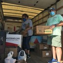 Nearly 3,000 pounds of food collected for local pantry at Saturday's food drive