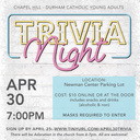 Durham/Chapel Hill Catholic Young Adults: Trivia Night