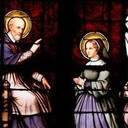 Oblate Corner: The vision of St. Jane de Chantal's first meeting with St. Francis de Sales