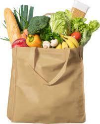Holy Infant assists Grocery Bags for Seniors program
