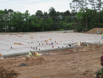 Building update: Foundation is ready to be poured