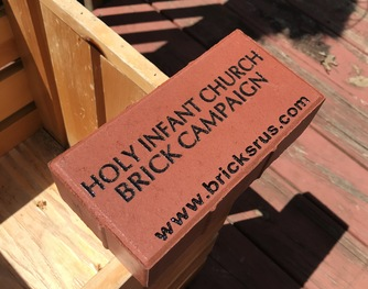Honor a loved one with a memorial brick paver for the Columbarium