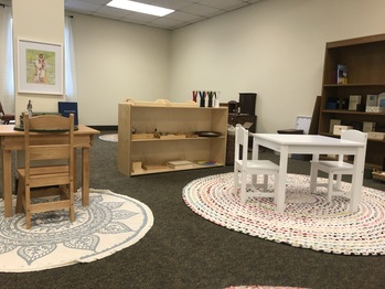 Catechesis of the Good Shepherd atrium set for fall 2021 opening