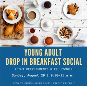 Young Adult Ministry: Drop In Breakfast Social