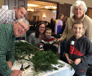 THIRD ANNUAL ADVENT WREATH MAKING EVENT IS DEC 1st!