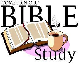 BIBLE STUDY BEGINS SEPT 23!