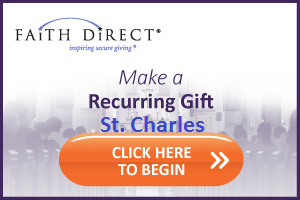 Faith Direct Give Now Button St. Charles