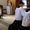 Encourage Your Children To Serve at the Holy Sacrifice of the Altar