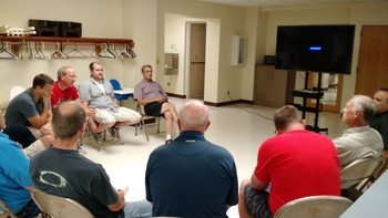 Reminder: Men's Faith and Fellowship Group Moved to September 11