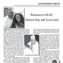 WELCOME TO OLGC DCN RAY AND TYRA LAMB