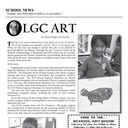 SCHOOL NEWS - OLGC ART