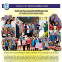 OLGC SCHOOL SALUTES VETERANS AND ACTIVE MILITARY PERSONNEL