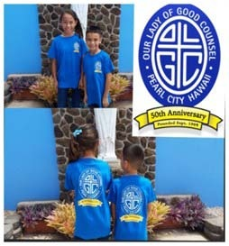 OLGC SCHOOL 50TH ANNIVERSARY T-SHIRT