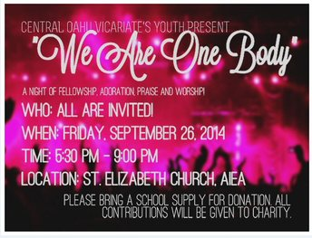 CENTRAL OAHU VICARIATE'S YOUTH PRESENTS