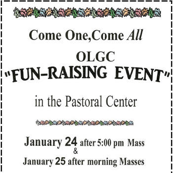 OLGC FUN-RAISING EVENT