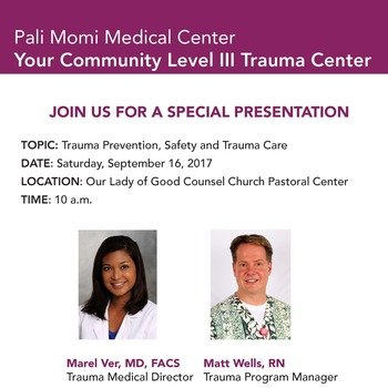JOIN US FOR A SPECIAL PRESENTATION