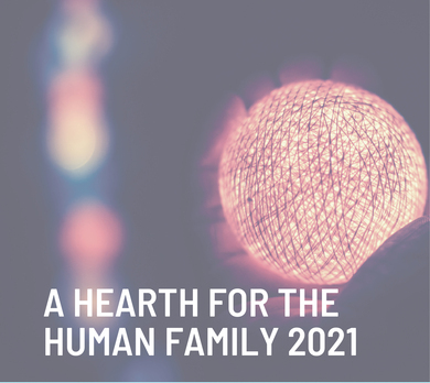 Join online event, 'A Hearth for the Human Family'