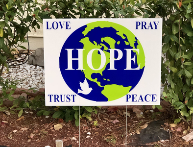 Prayer and Hope, what the world needs now