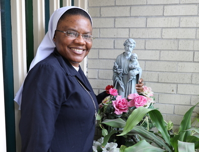 Her vocation is a joyful expression of God's love