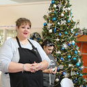 Residents at Villa Maria  <div>  enjoy a holiday luncheon </div>