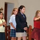 "Students participate in ""Liturgy to Begin the School Year"""