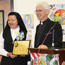 Dedication and Blessing of Mother Julia Hall at St. Anthony School