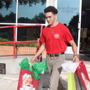 High School students collected and delivered gifts for foster children