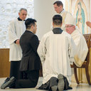 Bishop installs seminarians into Ministry of Reader
