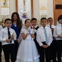 Sacramental Class held first Communion at Our Lady of Guadalupe Mission