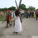 Alice parish reenacts live Stations of the Cross