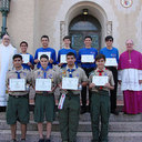 Religious awards ceremony held for scouts and leaders