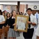 Students celebrate Mass  <div>  for Pope Francis' visit </div>