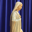 Students create a living rosary