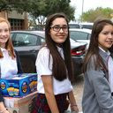 Students donate to Share Your Christmas Food Drive