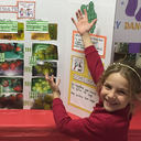 Research by a first-grader finds green boxes do not keep produce fresh longer