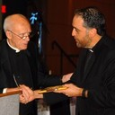 Father Martinez honored with 2016 Bishop Carmody Award