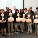 Health Careers Club receives  <br />Community Champions grant