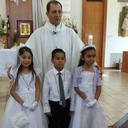 First Communion at Our Lady  <br />of Guadalupe Mission in Edroy