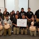 CPR for All project continues at  <br />high school&apos;s history classes