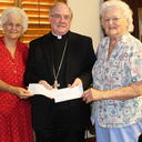 KJT contributes to seminarian  <br />education, clergy retirement
