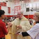 Bishop Mulvey celebrates  <br />Mass of Annunciation, Incarnation