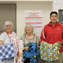 Optimist Club made, donated blankets to those in need