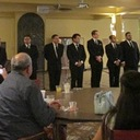 Seminarians say thank you to Burse Club for financial support